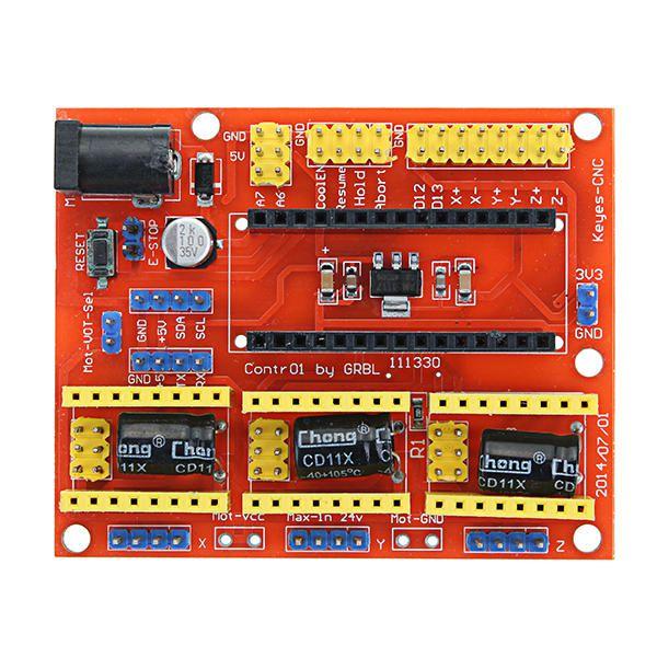 Shield CNC V4 Nano Arduino