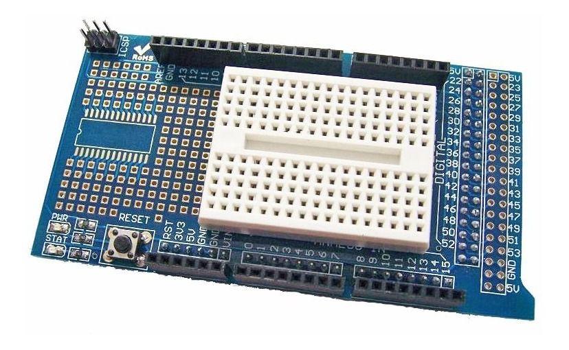 Shield Protoshield para Arduino Mega