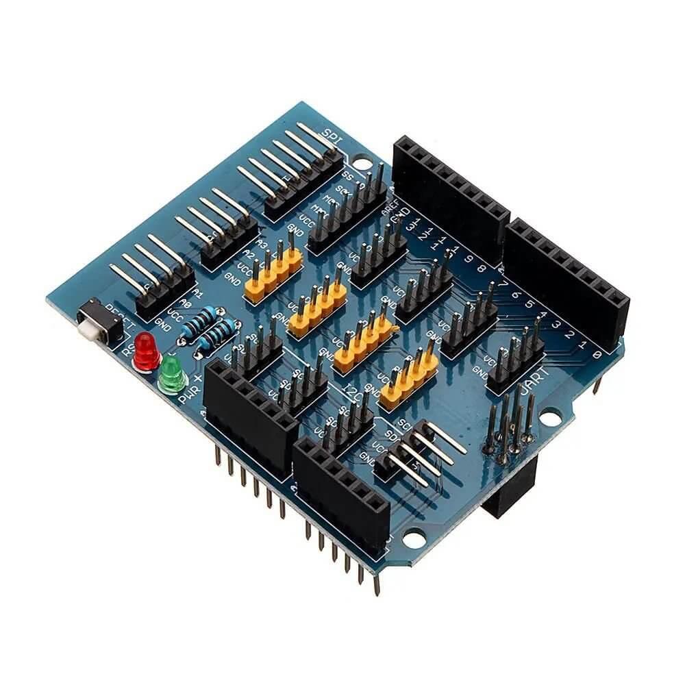 Shield Expansão V1.1 para Arduino - Expansor de Entradas e Saídas