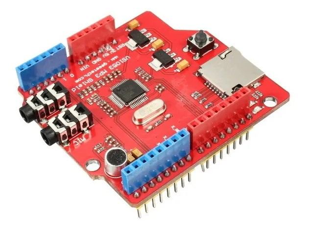 Shield MP3 VS1053 para Arduino