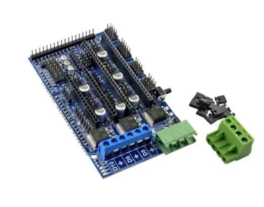 Shield Ramps 1.5 RepRap para Arduino Mega