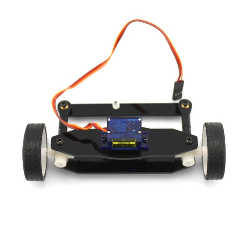 Sistema de Movimentação Dianteiro ZX2 Com Rodas e Servo Motor