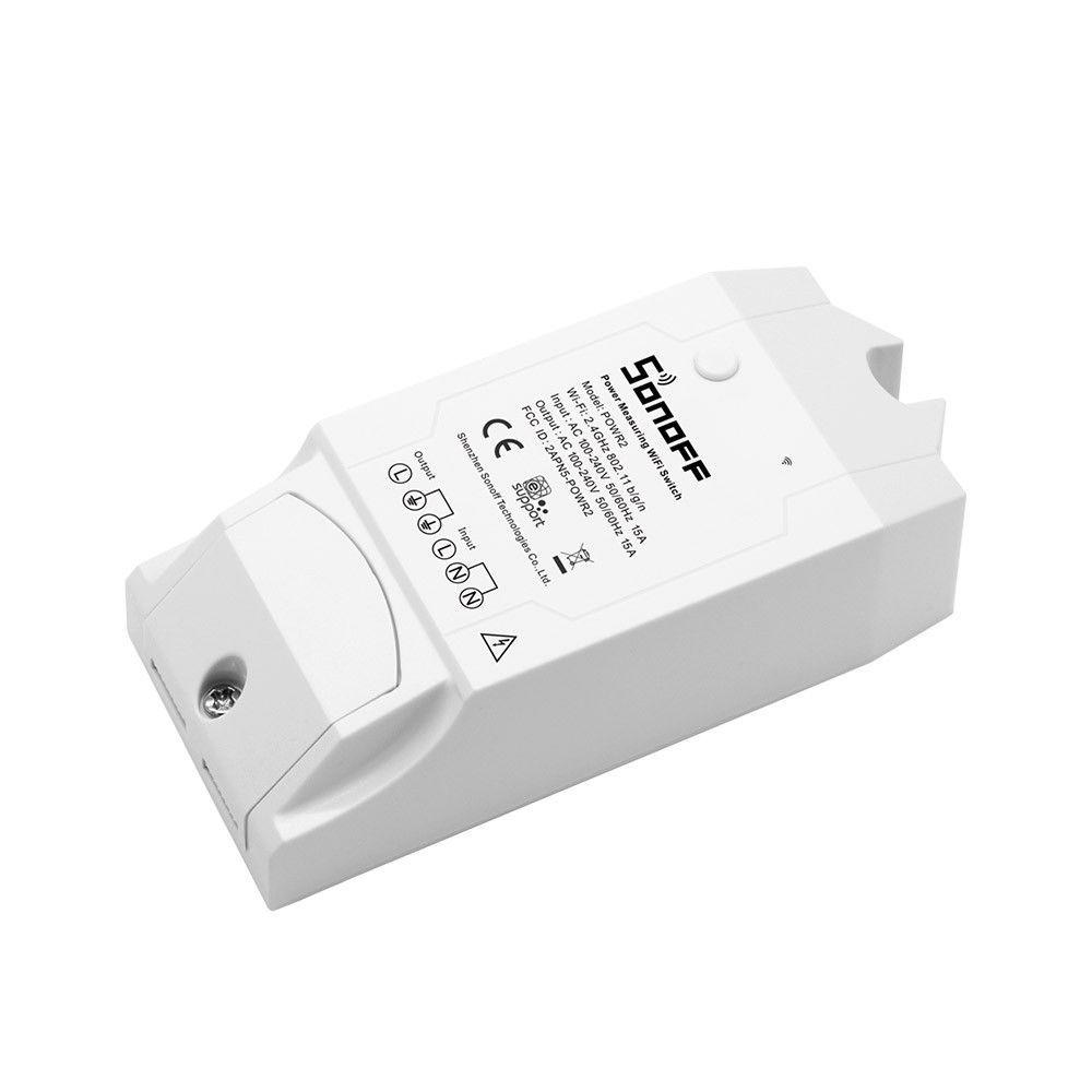 Sonoff Pow R2 Medidor Consumo de Energia Wifi
