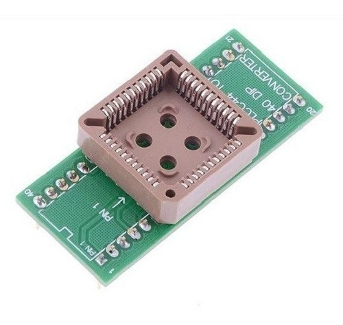 Soquete Adaptador PLCC44 para DIP40