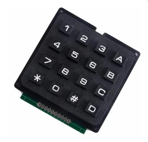 Teclado Matricial Rigido 4x4 - 16 Teclas