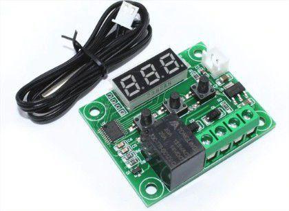 Controlador de temperatura Termostato W1209