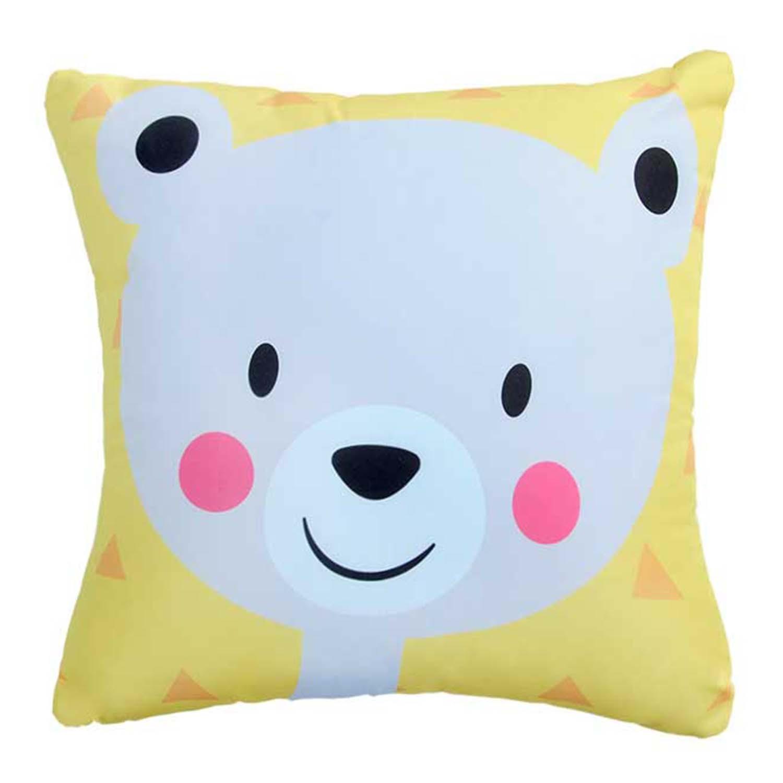 Almofada Colorful Urso Feliz Smile