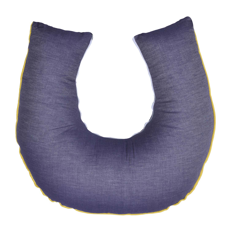 Almofada de Amamentação Jeans com Cordão Yellow Colors