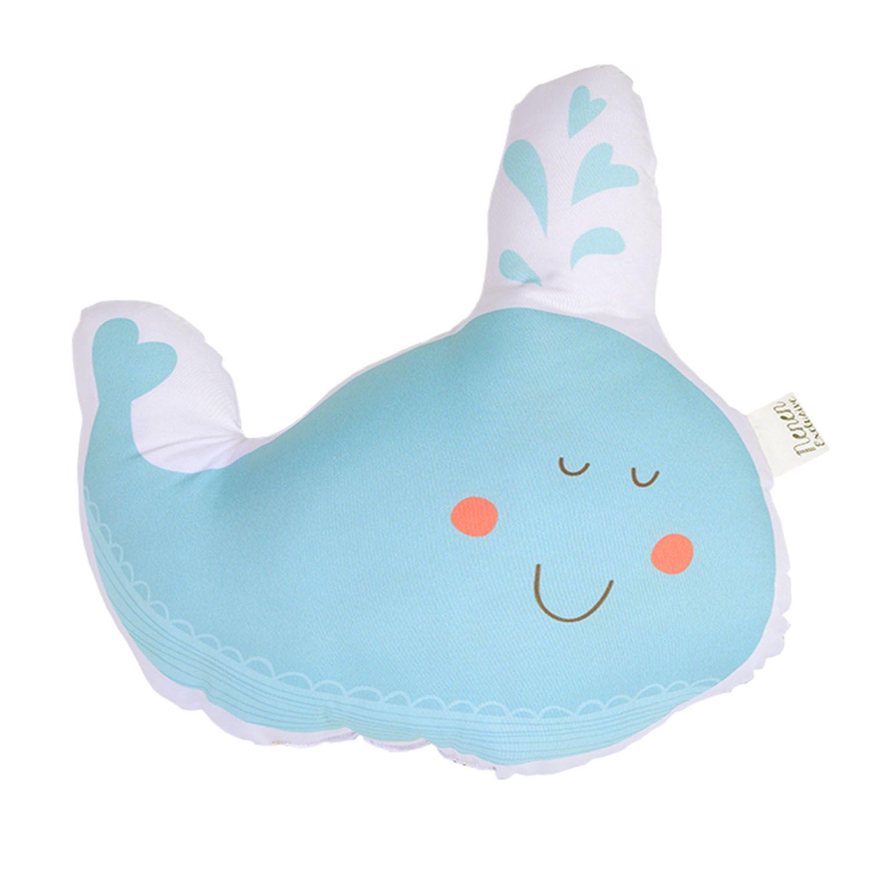 Almofada Decorativa Baleia Feliz Decora