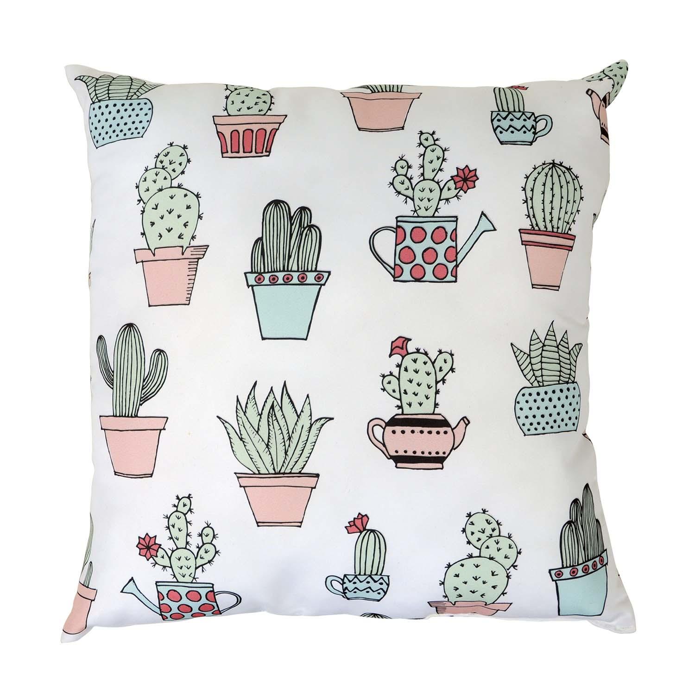 Almofada Decorativa Flor de Cactus