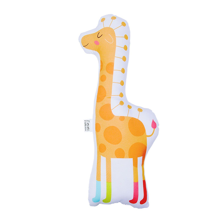 Almofada Decorativa Girafa Orange Decora
