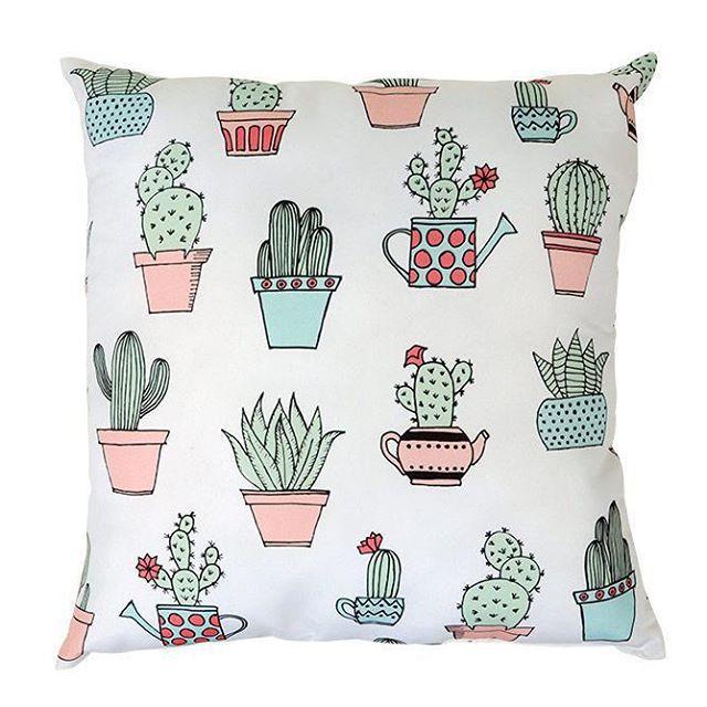 Almofada Flor de Cactus Decora