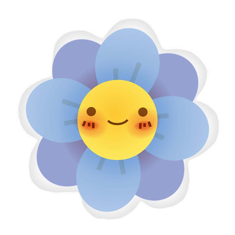 Almofada Flor Sorriso Decora