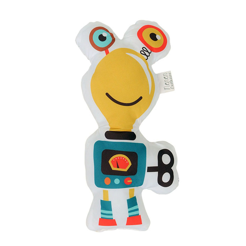 Almofada Toy Robot Lamp