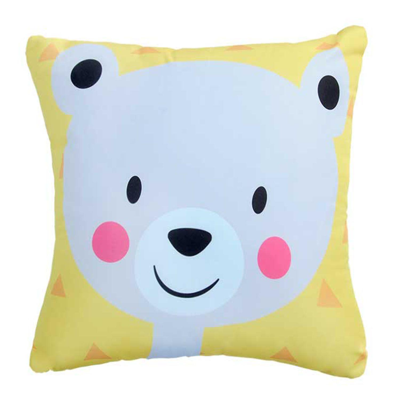 Almofada Urso Feliz Smile Colorful