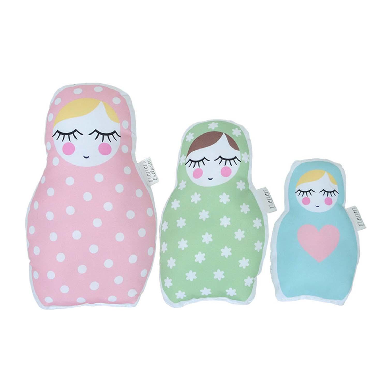 Almofadas Bonecas Russas Decora