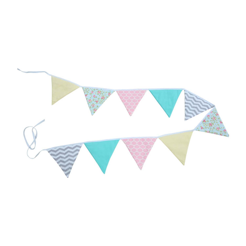 Bandeirinha Decorativa de Tecido Sunny