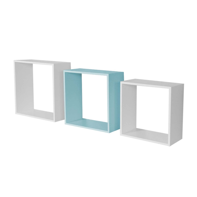 Basic Nichos 3 peças Azul
