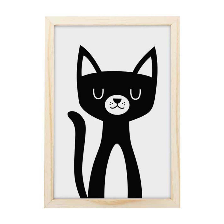 Big Quadro Cool Cat Tamanho A3