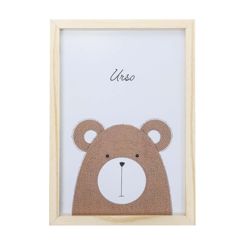Big Quadro Urso Tamanho A3