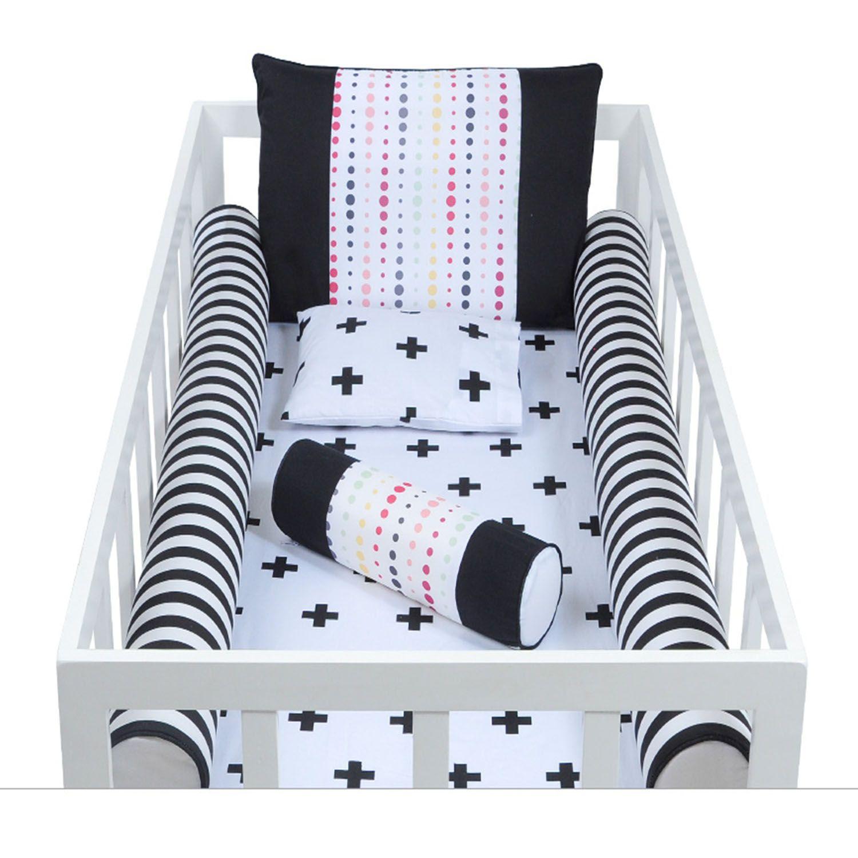 Kit de Rolos Protetores para Berço Modern Baby