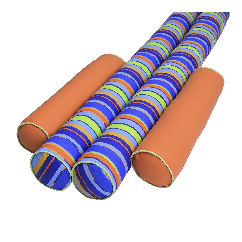 Kit de Rolos Protetores de Berço Modern Bluee com 4 peças