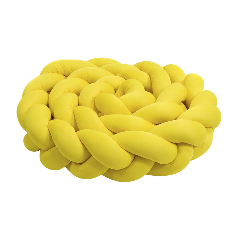 Protetor de Berço de Trança Yellow