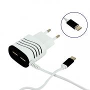 CARREG.PARE+CABO MICRO USB BRA/PTO MOBIL