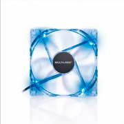 COOLER FAN 12X12 LED GA135 AZUL MULTILASER