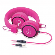 FONE HEADPHONE FUN PH088 ROSA MULTILASER