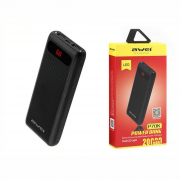 POWER BANK DIGITAL 20000 PRETA P70K AWEI