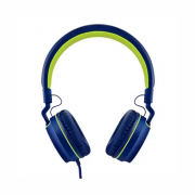 FONE OVER EAR PULSE SERIES PH162 AZUL/VERDE MULTILASER