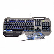 TECLADO WARRIOR RAGNAR COMBO TC223 MULTILASER