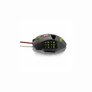 MOUSE  GAME WARRIOR THANE T18 BOTOES MO206 PRETO