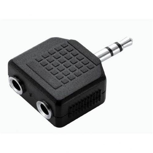 Adaptador Duplicador de Audio P/ Fone De Ouvido 2 Saidas P2