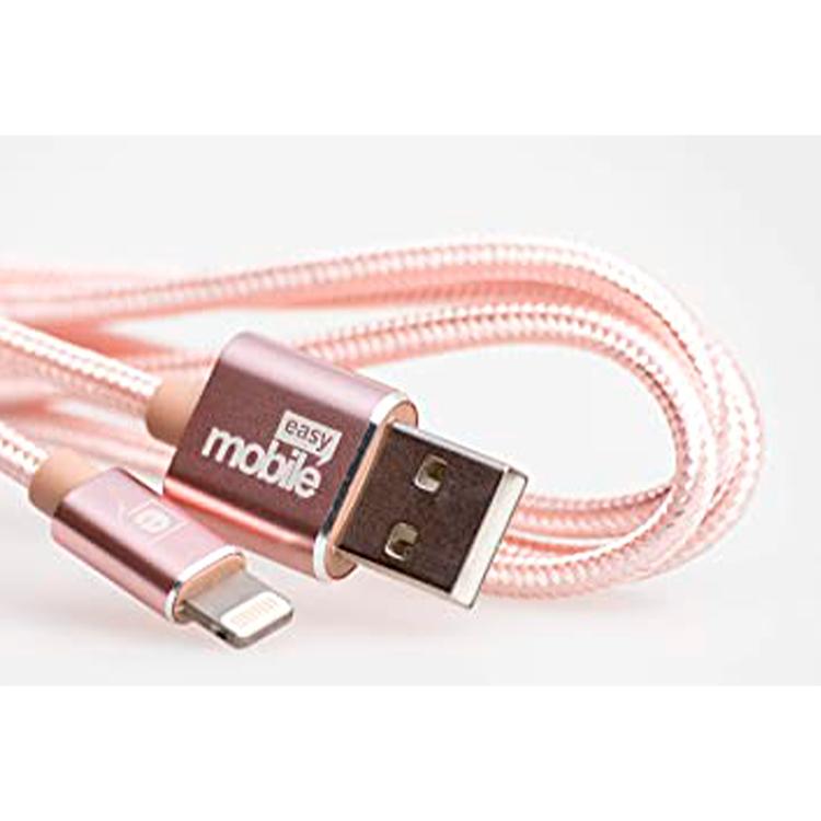 CABO MIC.USB PREMIUM 1,5 ROSE MOBILE