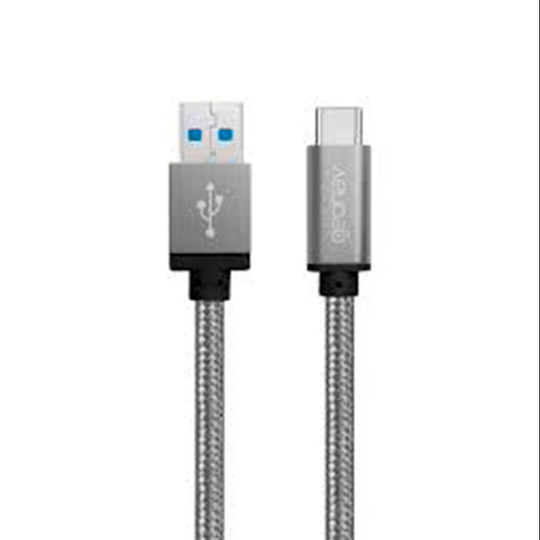 CABO MIC.USB TIPO C NYLON UCC02 GEONAV