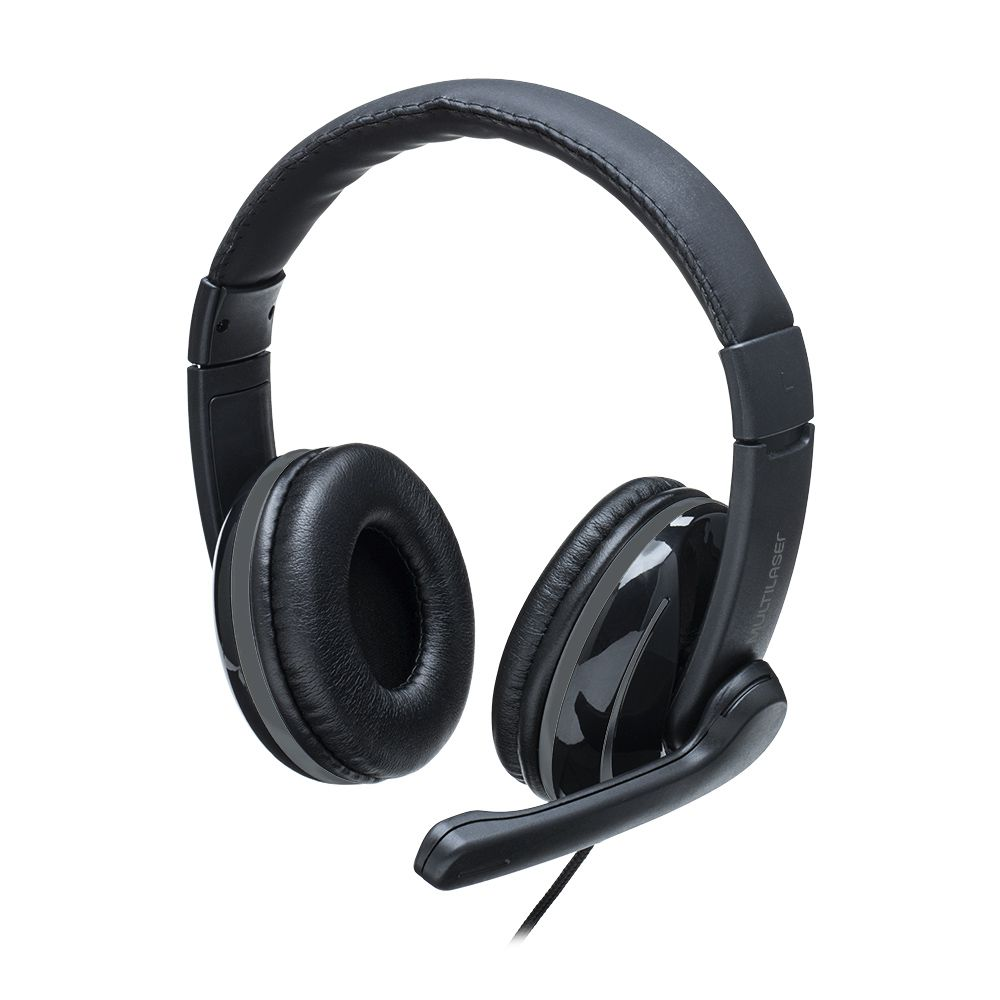FONE HEADSET PRO P2 PH316 PTO/CZA MULTILASER