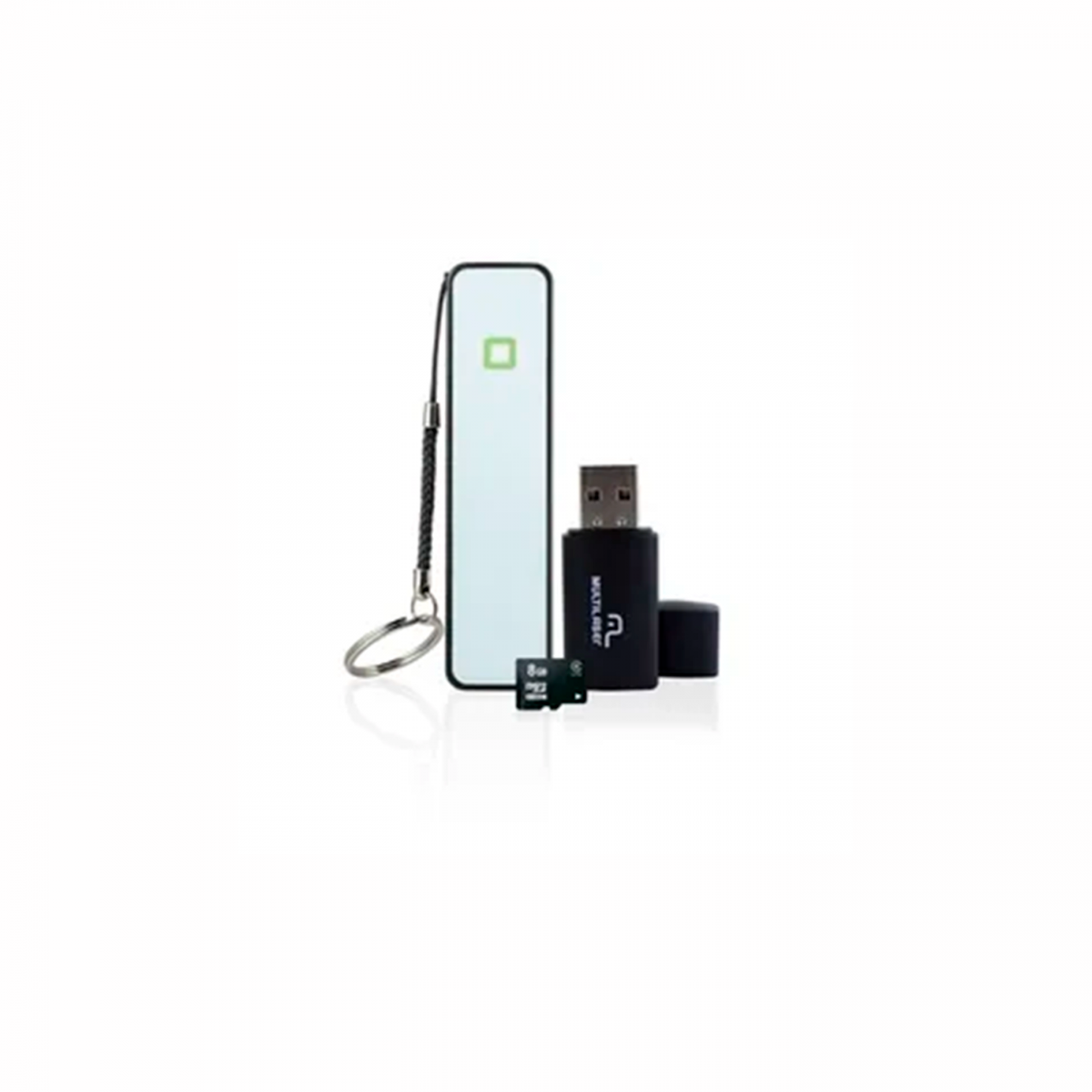 KIT SMART.PENDRIVE 8GB MC200 MULTILASER