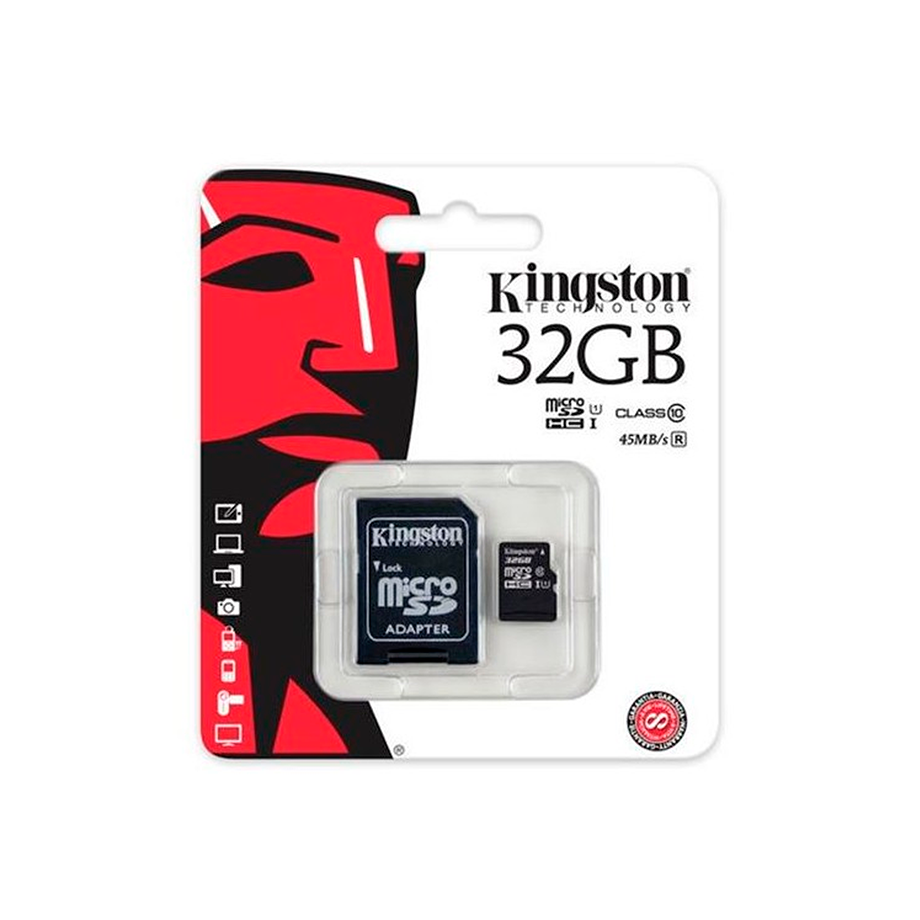 MEMÓRIA KINGSTON 32GB
