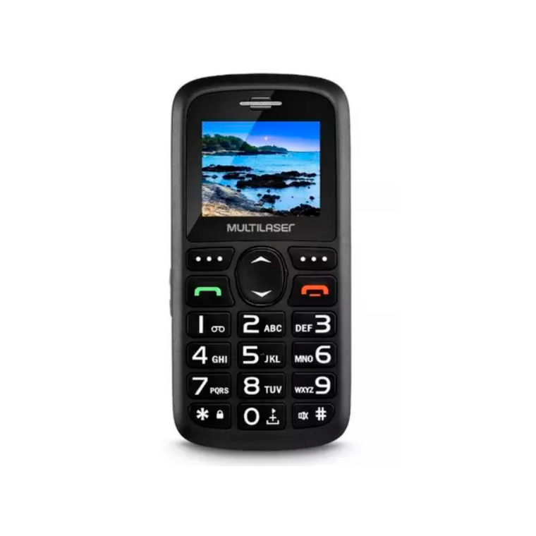 MULTILASER P9091 VITA 3G PRETO