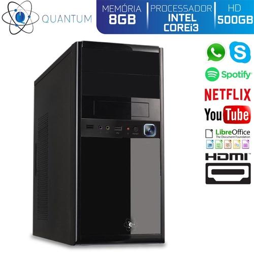 PC 28500 INTEL I3 8GB HD500GB