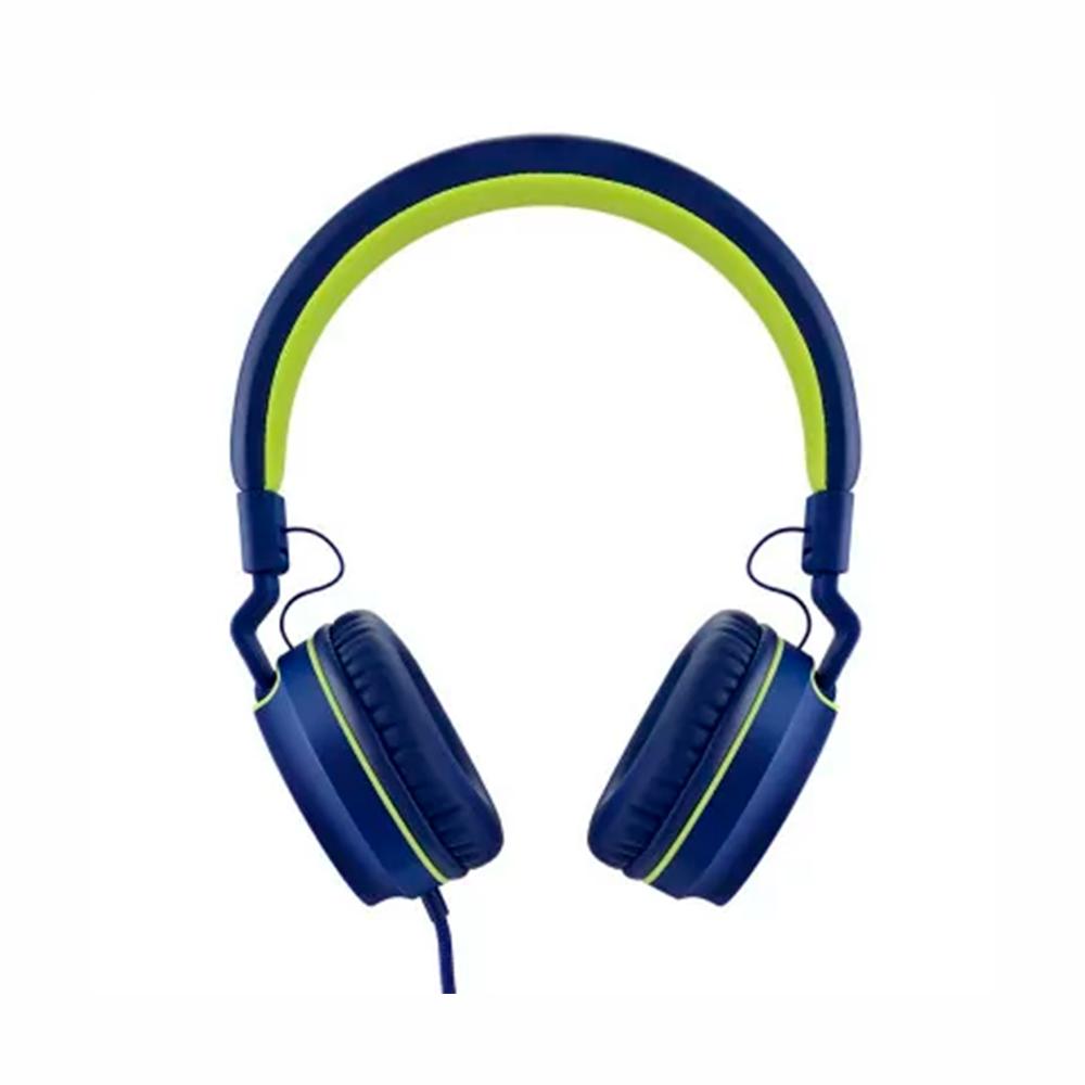 FONE OVER EAR PULSE SERIES PH162 AZUL/VERDE MULTILASER