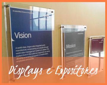 Linha Displays e Expositores