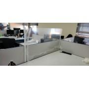 Divisória de Baia em PETG 120x60cm
