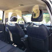 Escudo Protetor Salivar Uber E Taxi 120x60cm