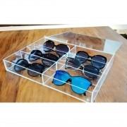 Organizador De Óculos Em Caixa com Tampa