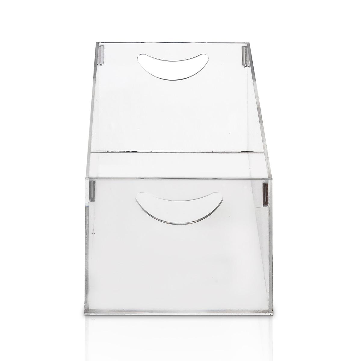 Caixa Organizadora em Acrílico P 30x15x12cm