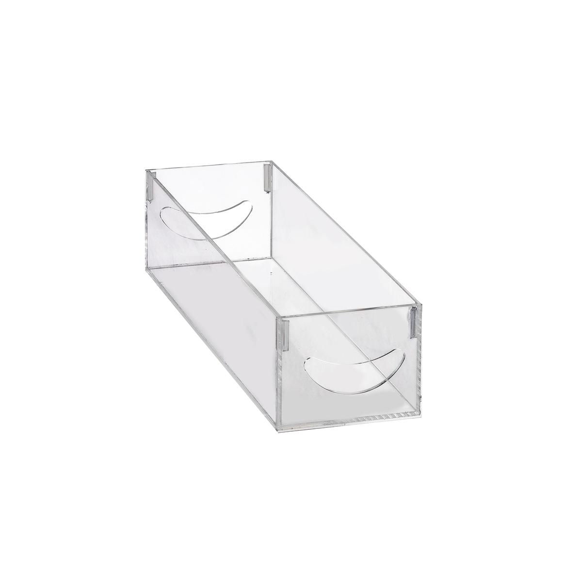Caixa Organizadora em Acrílico PP 30x10x8cm