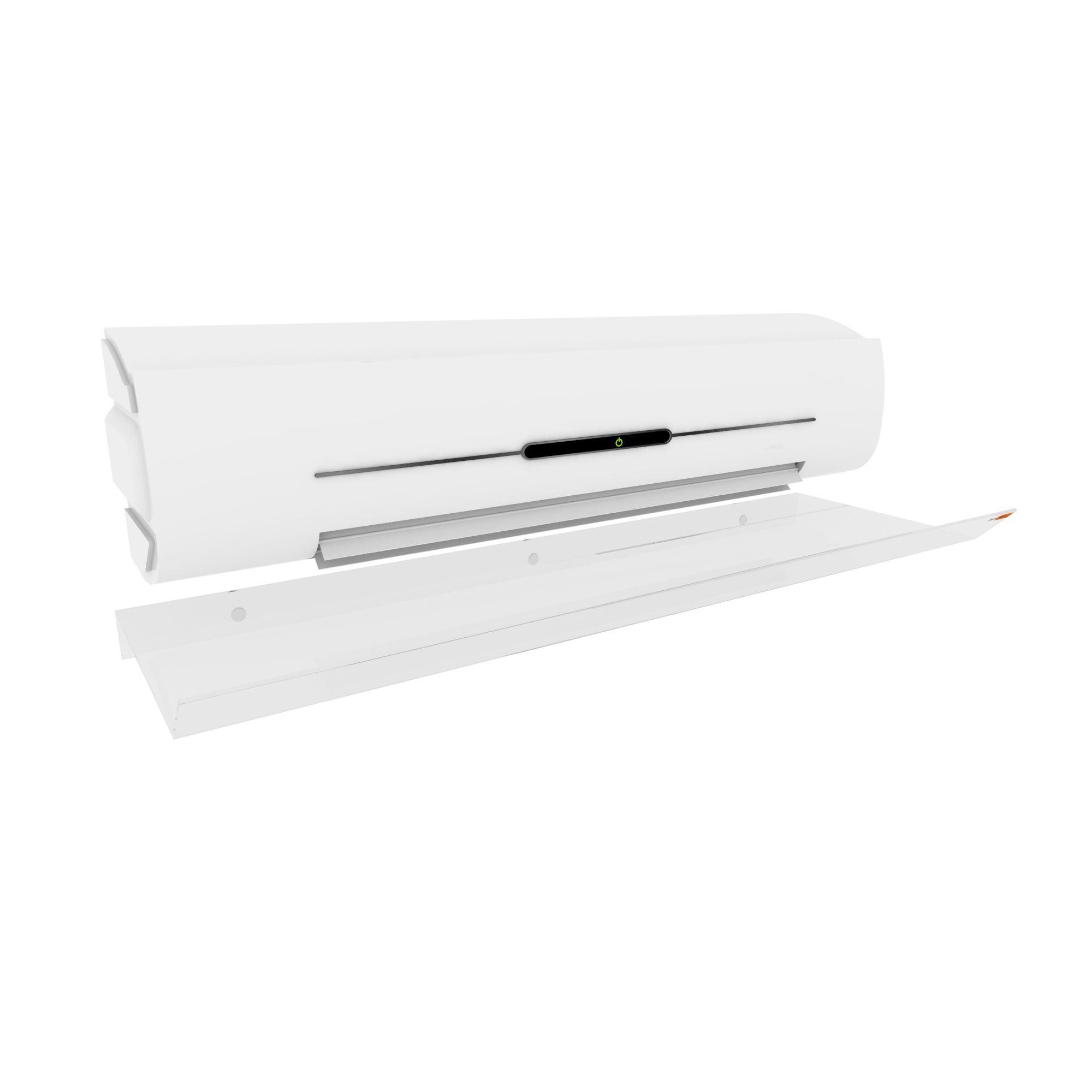 Defletor Em Acrílico Para Ar Condicionado Split - 80cm